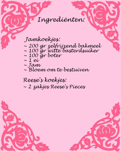Ingredienten koekjes