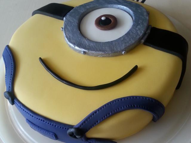 Minion Taart & Cakepops