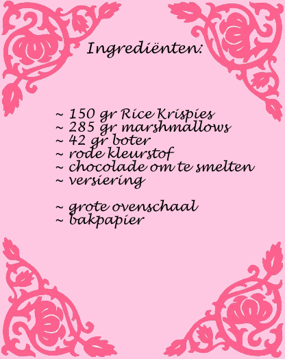 ingredienten rice krispies