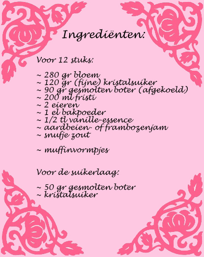 ingredienten fristi muffins